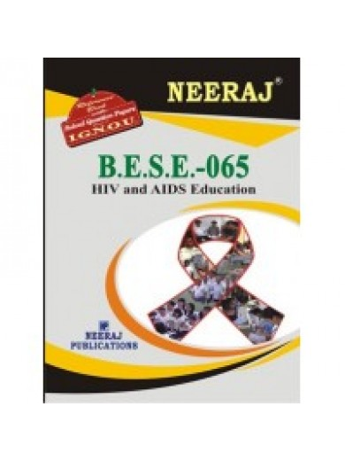 BESE-065 HIV & AIDS Education - IGNOU Guide Book For BESE065 - English Medium