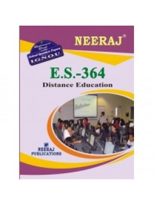 IGNOU : ES - 364 Distance Education (ENGLISH)