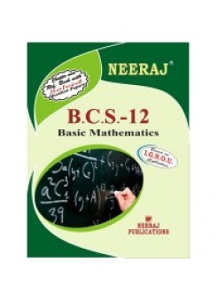 IGNOU : BCS- 012  Basic Mathematics