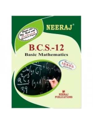 BCS- 012  Basic Mathematics IGNOU Guide Book For BCS-012  ( English Medium )