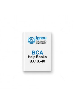 IGNOU BCA BCS-40 Statistical Techniques
