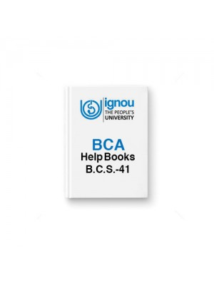 IGNOU BCA BCS-54 Computer Oriented Numerical Techniques