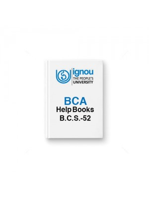 IGNOU BCA BCS-52 Network Programming & Administration