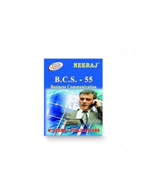IGNOU BCA BCS-55 Business Communication