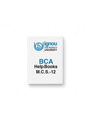 IGNOU BCA MCS-12 Computer Org. & Assembly Language Programming