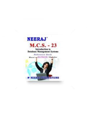 IGNOU BCA MCS-23 Introduction to Database Management Systems