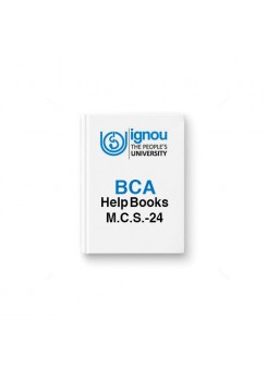 IGNOU BCA MCS-24 Object Oriented Technologies and Java Programming