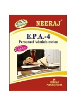 IGNOU : EPA - 4 Personnel Administration (ENGLISH)