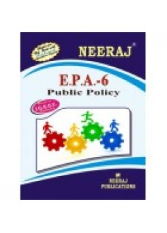IGNOU EPA-6 Public Policy (ENGLISH)