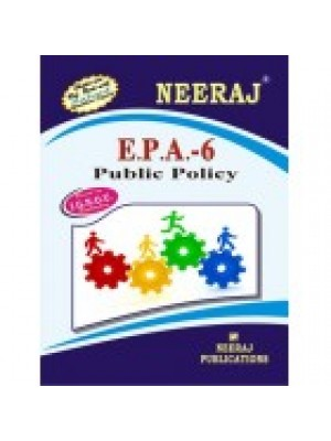 EPA-6 Public Policy - IGNOU Guide Book For EPA6 - English Medium