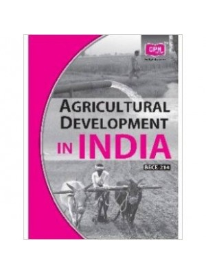 BECE-214 Agricultural Development in India - IGNOU Guide Book For BECE214 - English Medium