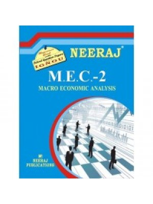 IGNOU : MEC - 002 MACRO ECONOMIC ANALYSIS (ENGLISH)