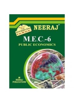 IGNOU : MEC - 006 Public Economics (ENGLISH)