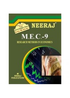 IGNOU: MEC - 009 Research Methods In Economics (ENGLISH)
