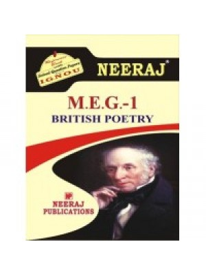 MEG-1 British Poetry - IGNOU Guide Book For MEG1