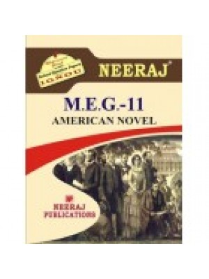 MEG-11 AMERICAN NOVEL - IGNOU Guide Book For MEG11