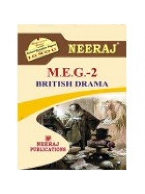 MEG-2 British Drama - IGNOU Guide Book For MEG2