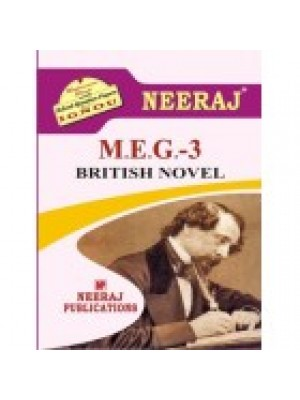 MEG-3 British Novel - IGNOU Guide Book For MEG3