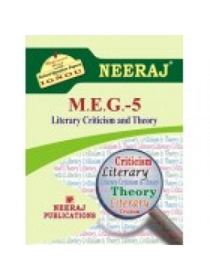 MEG-5 Literary Criticism And Theory - IGNOU Guide Book For MEG5