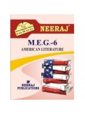 MEG-6 AMERICAN LITERATURE - IGNOU Guide Book For MEG6