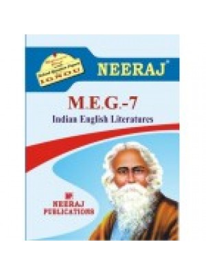 IGNOU : MEG-7 INDIAN ENGLISH LITERATURE