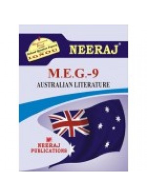 MEG-9 AUSTRALIAN LITERATURE - IGNOU Guide Book For MEG9