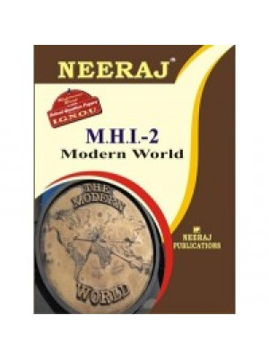 IGNOU : MHI - 2 Modern Wold (ENGLISH)