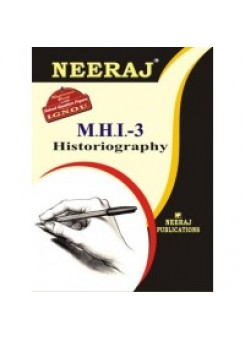 IGNOU : MHI - 3 HISTORIOGRAPHY (ENGLISH)