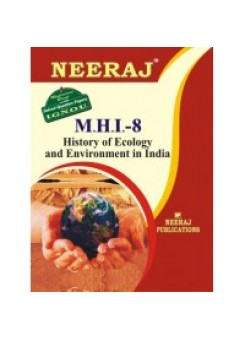 IGNOU : MHI - 8 HISTORY OF ECOLOGY AND ENVIRONMENT: INDIA (HINDI)