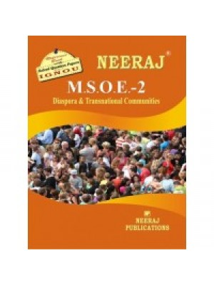 IGNOU: MSOE - 002 DIASPORA AND TRANSNATIONAL COMMUNITY (ENGLISH)