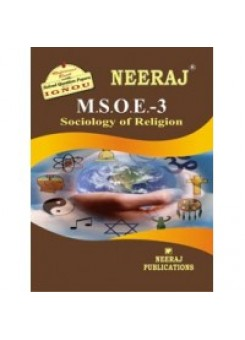 IGNOU : MSOE - 003 SOCIOLOGY OF RELIGION (ENGLISH)