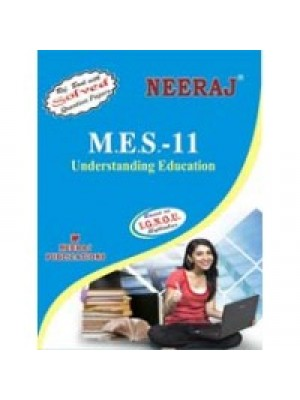 MES - 011 UNDERSTANDING EDUCATION - IGNOU Guide Book For MES011 - English Medium