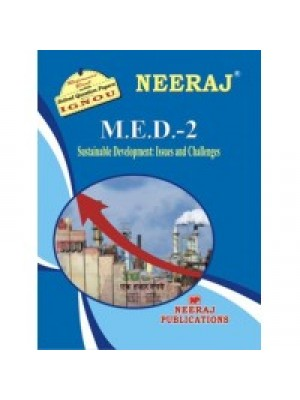 IGNOU : MED - 2 Sustainable Development (ENGLISH)