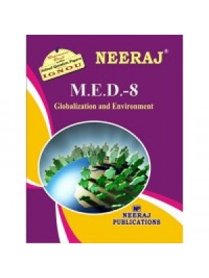 MED- 8 Globalisation & Environment - IGNOU Guide Book For MED8 - English Medium