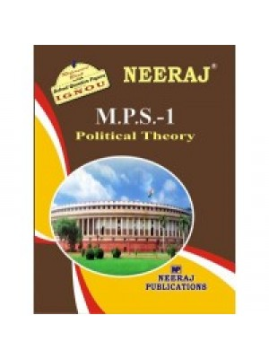 IGNOU : MPS - 1 POLITICAL THEORY (ENGLISH)