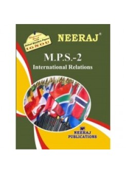 IGNOU : MPS - 2 INTERNATIONAL RELATIONS (ENGLISH)
