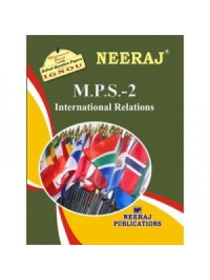 MPS2 - IGNOU Guide Book For International Relations - English Medium