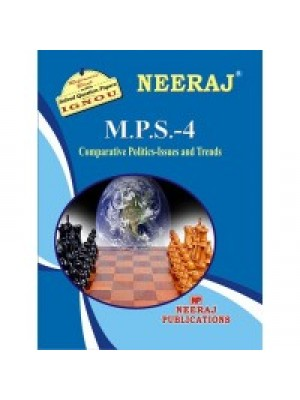 MPS4 - IGNOU Guide Book For Comparative Politics - English Medium