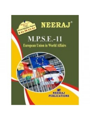IGNOU : MPSE - 11 European Union In World Affairs (ENGLISH)