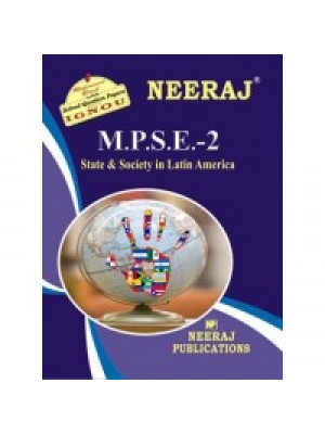 MPSE2 - IGNOU Guide Book For Latin America : State And Society - English Medium