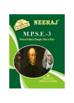 IGNOU : MPSE - 3 WESTERN POLITICAL THOUGHT (ENGLISH)