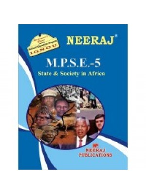IGNOU : MPSE - 5 STATE & SOCIETY IN AFRICA (ENGLISH)