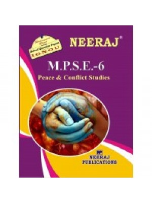 MPSE6 - IGNOU Guide Book For Peace And Conflict - English Medium
