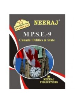 IGNOU: MPSE - 9 Canada: Politics & State (ENGLISH)