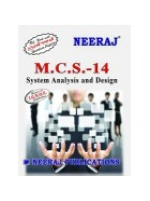 MCS - 14 System Analysis & Design - IGNOU Guide Book For MCS14 - English Medium