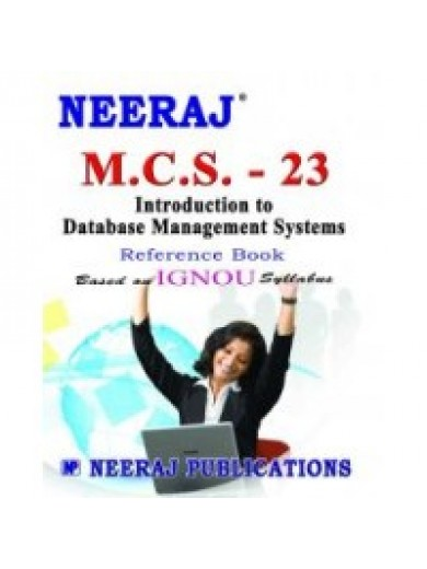MCS - 023 Database Management Systems - IGNOU Guide Book For MCS-023 - English Medium