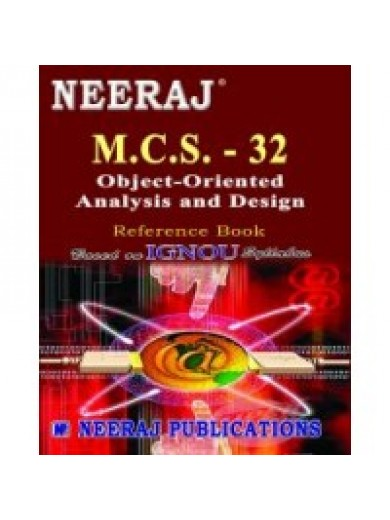 MCS- 032 Object-Oriented Analysis & Design - IGNOU Guide Book For MCS032 - English Medium