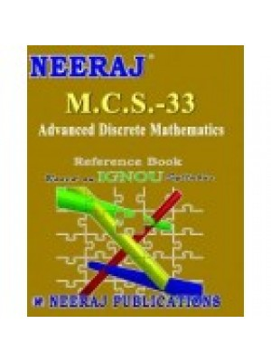 MCS - 033 Advanced Discrete Mathematics - IGNOU Guide Book For MCS033 - English Medium