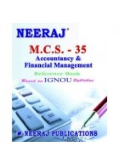 IGNOU : MCS - 035 Accounting And Financial Management