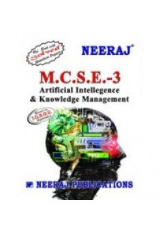 IGNOU : MCSE - 003 Artificial Intellegence and Knowledge Management